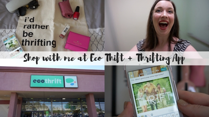 Shop with me at Eco Thift + Thrifting App