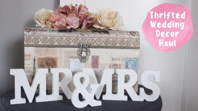 ThriftedWeddingDecorHaul